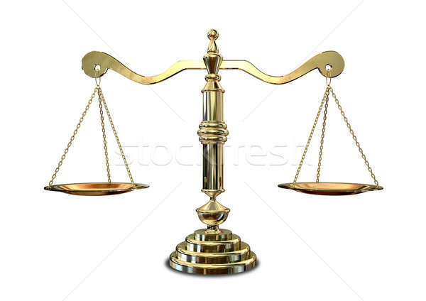 Scales Of Justice Stock photo © albund