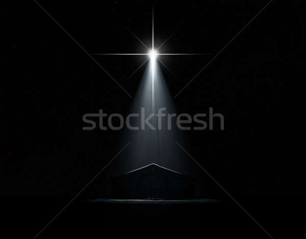 Stock photo: Abstract Nativity Scene