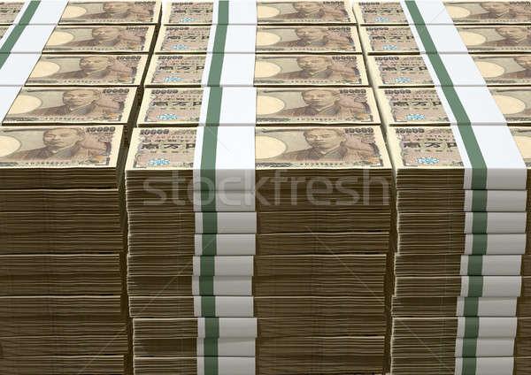 Yen note japanese Foto d'archivio © albund