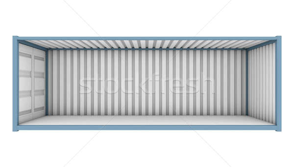 Shipping Container Cutaway Stock photo © albund