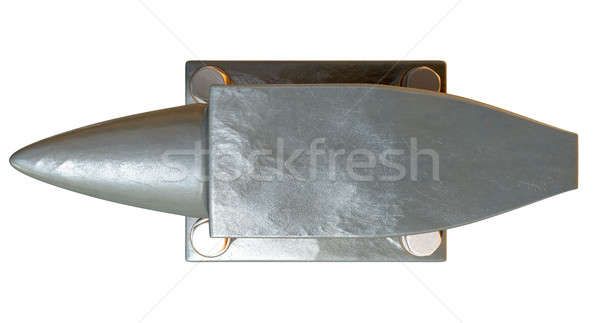 Steel Anvil Top Stock photo © albund