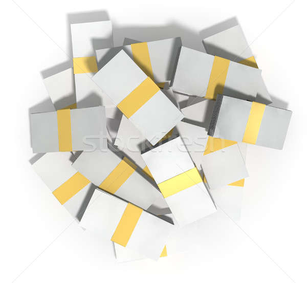 Generic Notes Scattered Pile Stock photo © albund