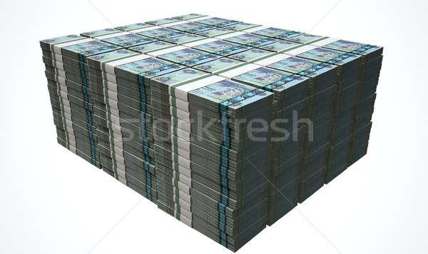 Pile Dirham Bank Notes Stock photo © albund