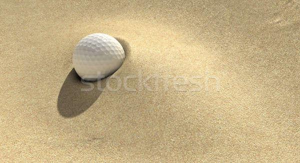 Golf Sand Trap Stock photo © albund