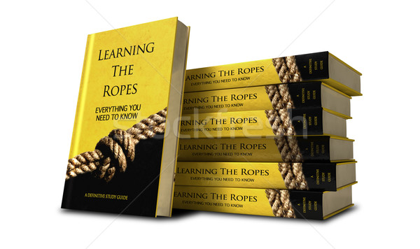 Learning The Ropes Study Guide Stack Stock photo © albund