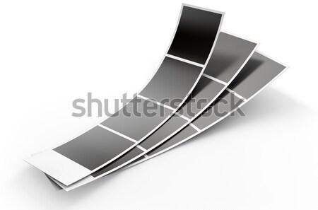 Photo Booth Picture Strip Stock photo © albund