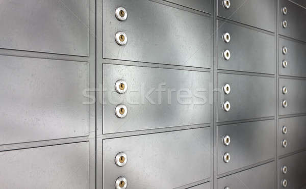 Safety Deposit Boxes Stock photo © albund