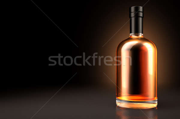 Generic Alcohol Bottle Stock photo © albund