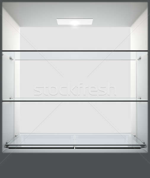 Fridge Interior Stock photo © albund