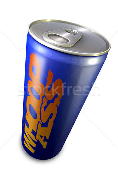 Stock photo: Open A Can Of Whoopass