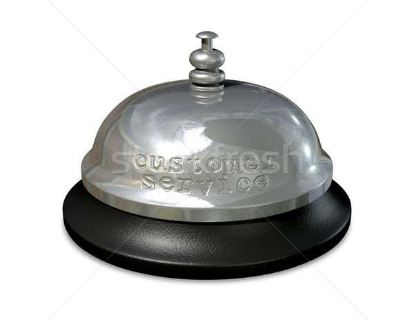 Customer Service Bell Stock photo © albund