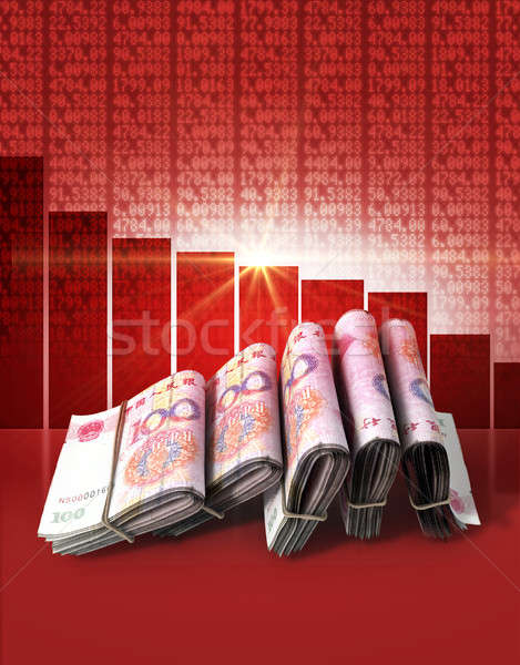 Negative Market Money Stock photo © albund