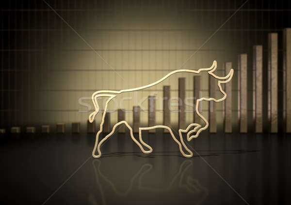 Bull Market Trend Stock photo © albund