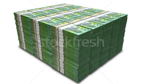 ストックフォト: オーストラリア人 · ドル · ノート · 孤立した