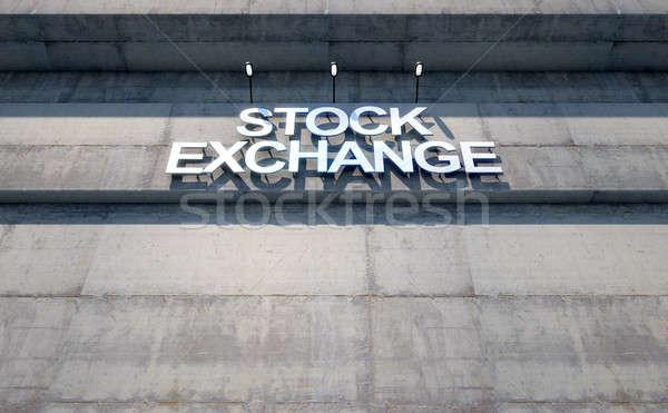 Stock fotó: Modern · stock · feliratozás · 3d · render · lézer · vág