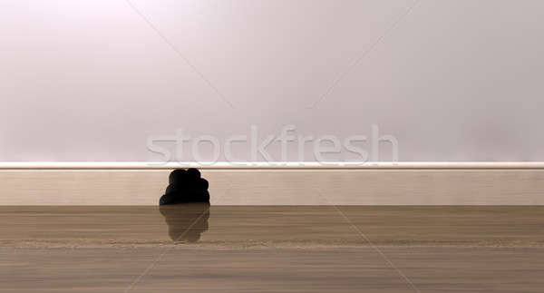 Mouse Hole Interior Stock photo © albund