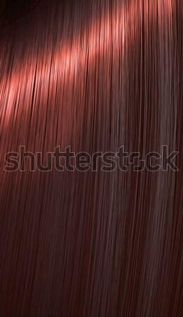 Shiny Red Hair  Stock photo © albund