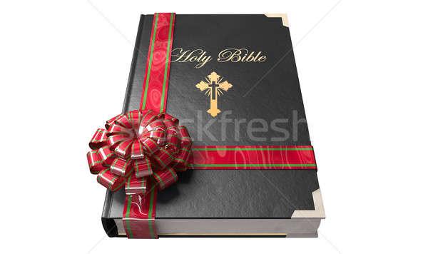 Bible Gift Stock photo © albund