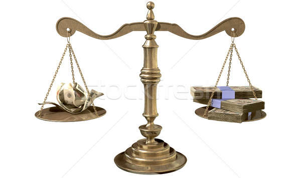 Inequality Scales Of Justice Income Gap Japan Stock photo © albund