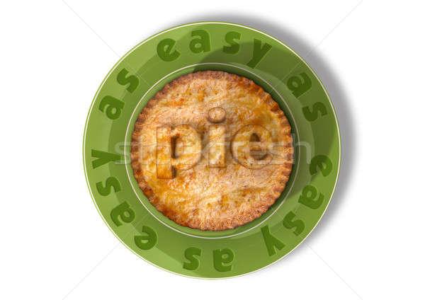 Easy As Pie Stock photo © albund