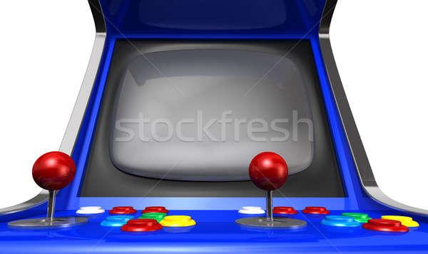 Arcade Machine Closeup Stock photo © albund
