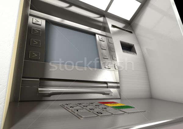 атм фасад мнение общий деньги Сток-фото © albund