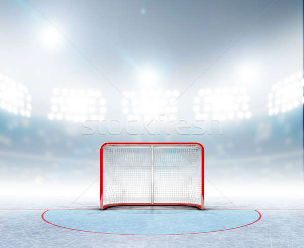 Ice Hockey Goals In Stadium Stock photo © albund