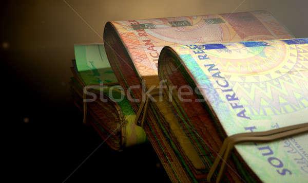 Rand Note Bundles Assorted Stock photo © albund