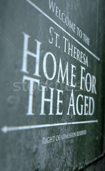 Retirement Home Signage Stock photo © albund