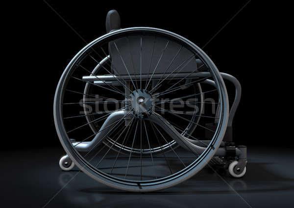 Sports Wheelchair Stock photo © albund