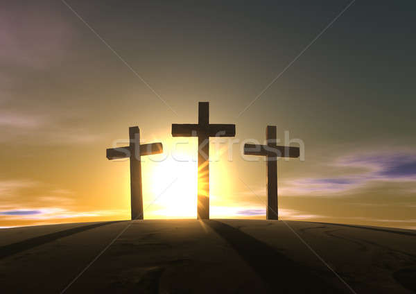 The Crucifixion Stock photo © albund