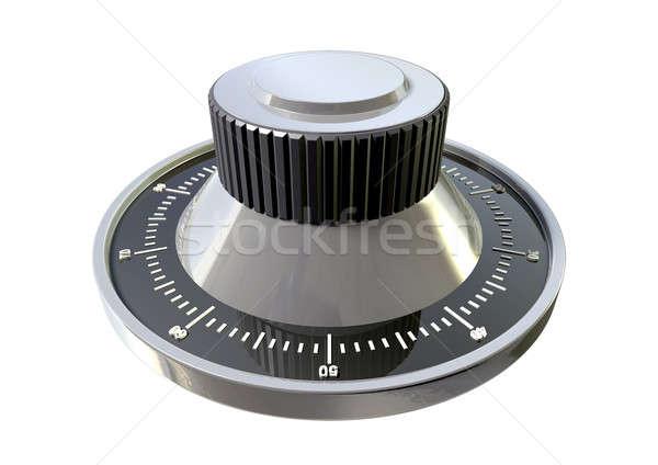 Połączenie wybrać perspektywy metal bezpieczne Zdjęcia stock © albund