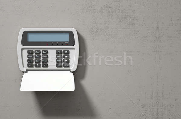 Security System Panel  Stock photo © albund
