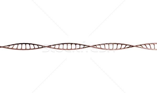 ADN micro microscópico vista estilo tecnología Foto stock © albund