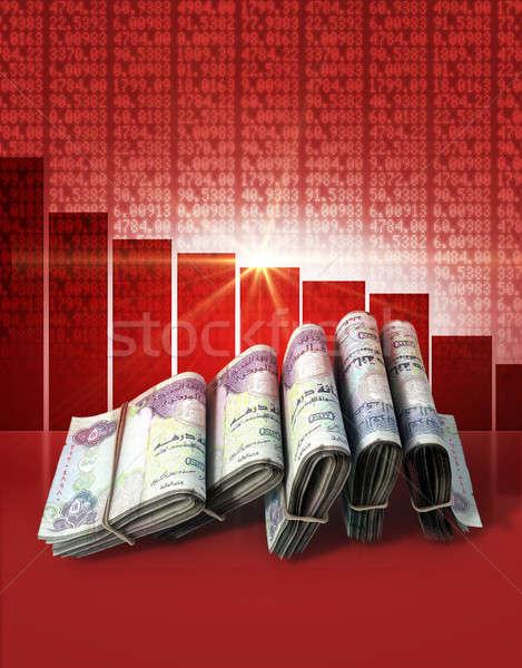 Negative Market Money Stock photo © albund