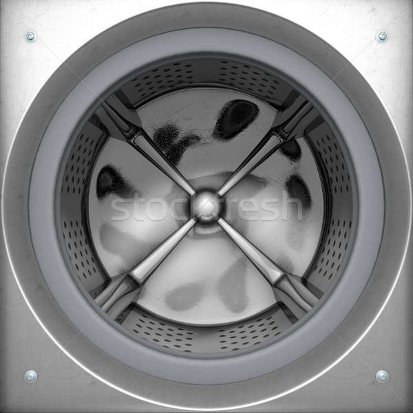 Stock photo: Washing Machine Drum
