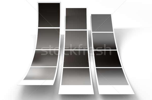 Photobooth Instant Photographs Stock photo © albund