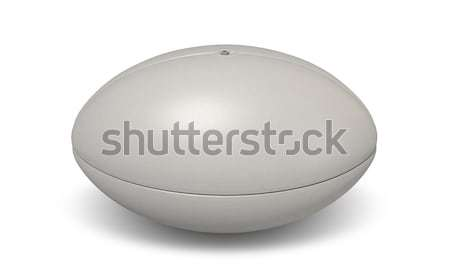 Rugby Ball Plain Stock photo © albund