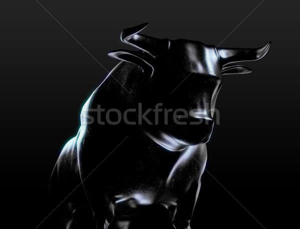 Bull Casting Stock photo © albund