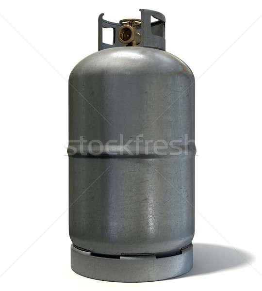 Gas Cylinder Stock photo © albund