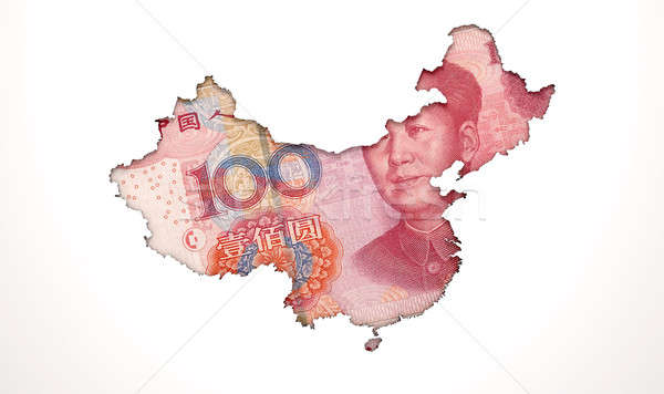 Recessed Country Note China Stock photo © albund
