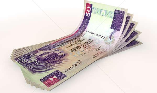 Hong Kong Dollar Bank Notes Spread Stock photo © albund