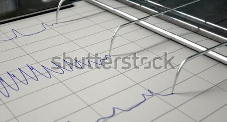 Lie Detector Test  Stock photo © albund