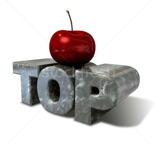 Cherry On Top Stock photo © albund