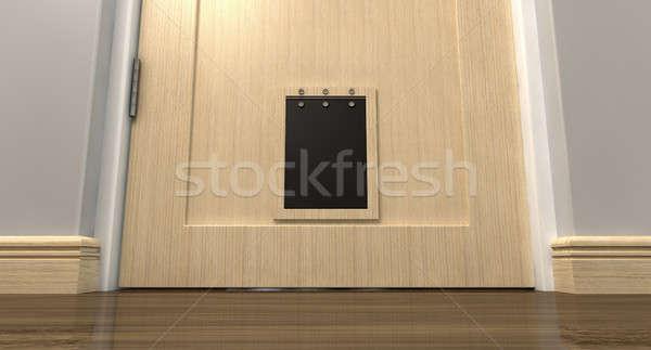 Pet Flap Interior Stock photo © albund