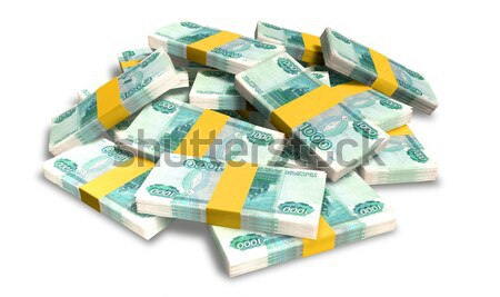 British Pound Sterling Notes Scattered Pile Stock photo © albund