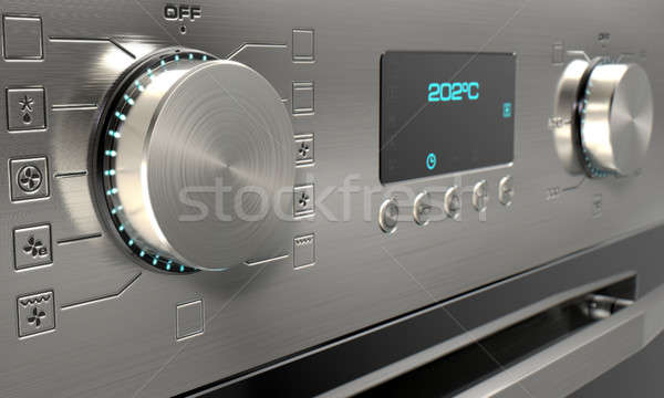 Modern Oven Closeups Stock photo © albund