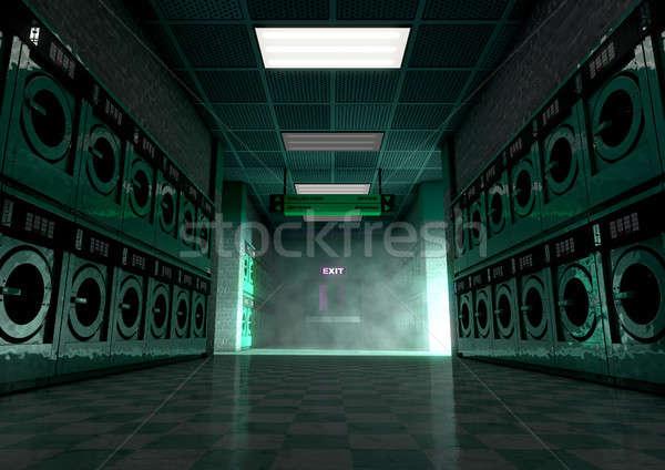 Laundromat Dirty Stock photo © albund