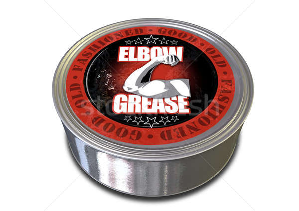 Good Old-Fashioned Elbow Grease Stock photo © albund