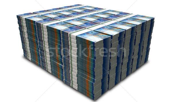 Swiss Franc Notes Bundles Stack Stock photo © albund